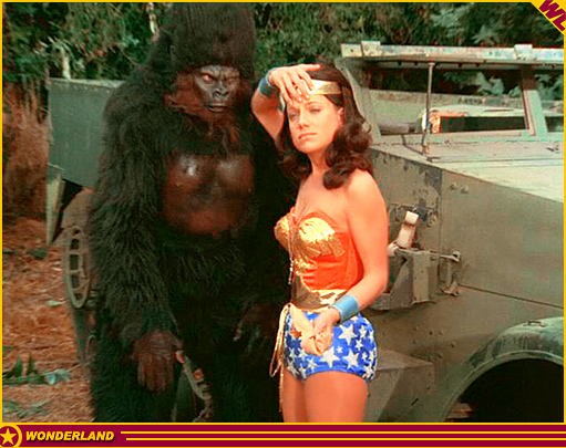 """Wonder Woman Vs. Gargantua"" - � 1976 Warner Bros. Television / ABC-TV."